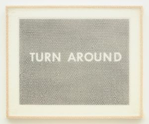 """TURN AROUND"" by Tammi Campbell contemporary artwork"