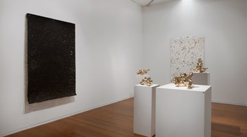 Contemporary art exhibition, Lindy Lee, Fire Over Heaven at Roslyn Oxley9 Gallery, Sydney