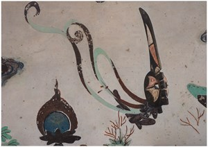 Evolution North Wall of Mogao Cave No. 172, Mma Ji Mask by XU ZHEN® contemporary artwork