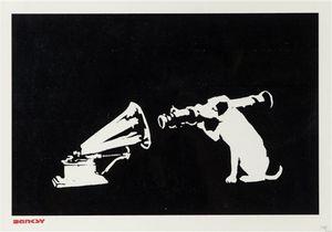 HMV by Banksy contemporary artwork