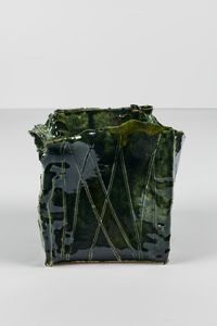 Untitled Small Planter 6 by Rashid Johnson contemporary artwork ceramics