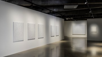Contemporary art exhibition, Hoh Woo Jung, Line, Curve, A Colorful Gesture at Gallery Baton, Seoul