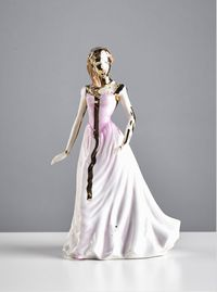 ROYAL DOULTON - PERFECT GIFTFIGURINE (G2898) by Jessica Harrison contemporary artwork sculpture