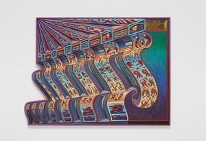 Zodiac Bench (6 Days / 7 Nights) by Zach Harris contemporary artwork