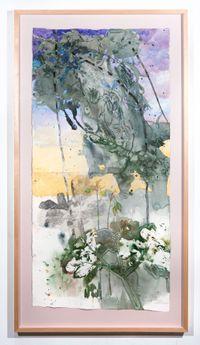 Tacca Leontopetaloides by John Wolseley contemporary artwork painting
