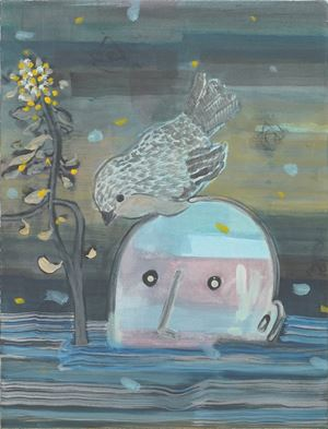 Floating on River by Lam Tung-Pang contemporary artwork
