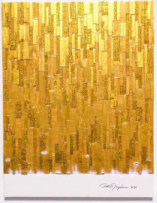 Golden Forest by Katsumi Hayakawa contemporary artwork