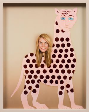 Woman (Gryphon) by Elad Lassry contemporary artwork