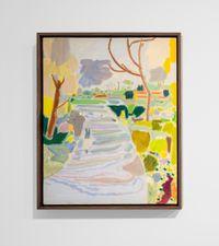 Upside Down Walk 1 by Lisa Sanditz contemporary artwork painting