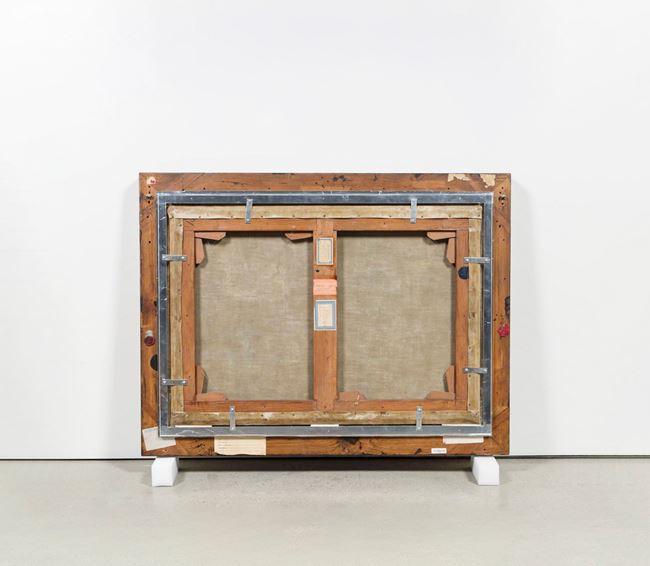 Verso (Back of the Painting): Ilha de Itamaraca by Vik Muniz contemporary artwork