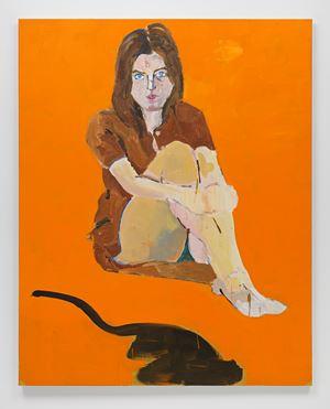 Portrait of Lorraine Nicholson by Henry Taylor contemporary artwork