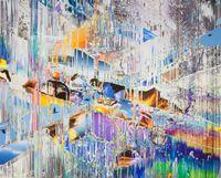 Crisscross by Sarah Sze contemporary artwork painting