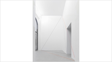 Contemporary art exhibition, Fred Sandback, Fred Sandback at Galerie Thomas Schulte, Berlin