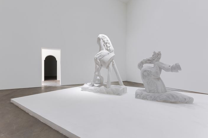 Exhibition view: Dong Jinling, The Purity of a Horse, de Sarthe Gallery, Beijing (17 March-6 May 2018). Courtesy de Sarthe Gallery.