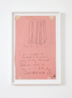 untitled (like its counterpart/this sonnet) (detail) by The Estate of L Budd contemporary artwork