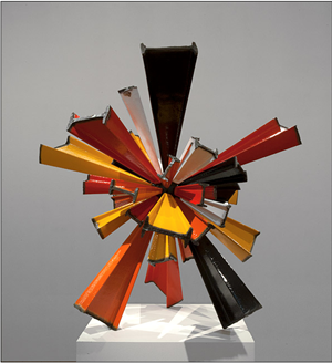 I-beam Sunburst  by James Angus contemporary artwork