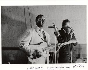 Muddy Waters, Isaac Washington by John Cohen contemporary artwork