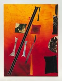 BC (4806) by Sterling Ruby contemporary artwork works on paper, sculpture