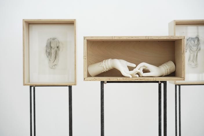 Exhibition view: Han Mengyun, Splinters of Jade 玉屑集, A Thousand Plateaus Art Space, Chengdu (26 April–9 June 2019). Courtesy A Thousand Plateaus Art Space.