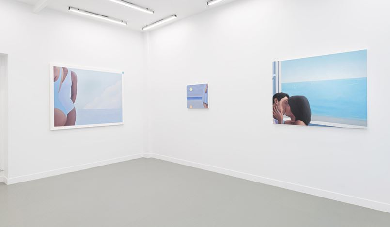 Exhibition view: Ridley Howard, Shorelines, Andréhn-Schiptjenko, Paris (2 December 2020–16 January 2021). Courtesy Andréhn-Schiptjenko, Paris. Photo: C.Maignien.