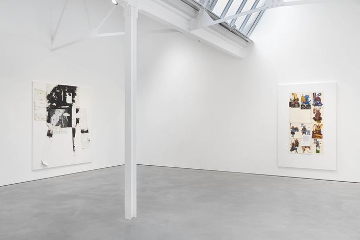 Exhibition view: Richard Aldrich, Modern Art, Helmet Row, London (6 September–19 October 2019). Courtesy Modern Art.
