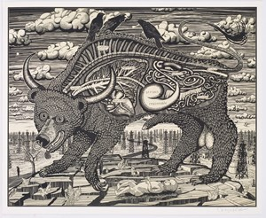 Animal Spirit (yellow) by Grayson Perry contemporary artwork