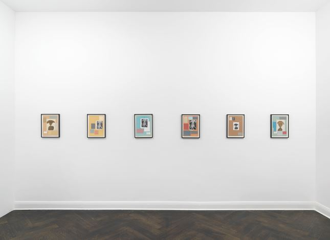 Exhibition view: Richard Hawkins, To the House of Shibusawa, Galerie Buchholz, Berlin (14 September–13 October 2018). Courtesy Galerie Buchholz.