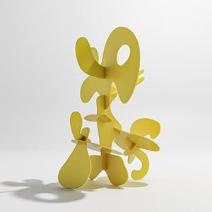 Bonobo (small) by Misha Milovanovich contemporary artwork