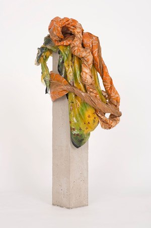 Portrait: Reena by Bharti Kher contemporary artwork