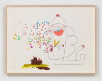 Vv44 by Mika Rottenberg contemporary artwork painting, works on paper, drawing
