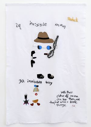 Invisible Man, Invisible Boy by Charrette van Eekelen contemporary artwork painting, works on paper, photography, print