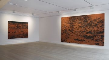 Contemporary art exhibition, Saad Qureshi, time | memory | landscape at Gazelli Art House, London