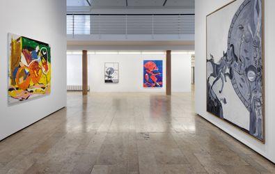 Exhibition view:Joe Bradley & Tobias Pils, Capitain Petzel, Berlin (15 September–23 October 2021). Courtesy Capitain Petzel. Photo: Gunter Lepkowski.