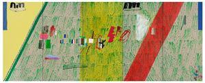 농담과 통곡의 벽지 Jokes & Wailing Wallpaper by Hyunjin Bek contemporary artwork