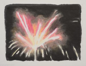 Firework 6 by Wu Yiming contemporary artwork