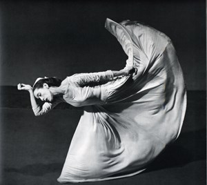 Letter to the World (kick), Martha Graham by Barbara Morgan contemporary artwork