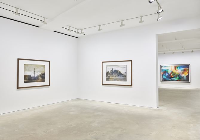 Exhibition view: Thomas Ruff, Transforming Photography, David Zwirner, Hong Kong (22 May—29 June 2019). Courtesy David Zwirner.