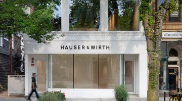 Hauser & Wirth contemporary art gallery in Southampton, USA