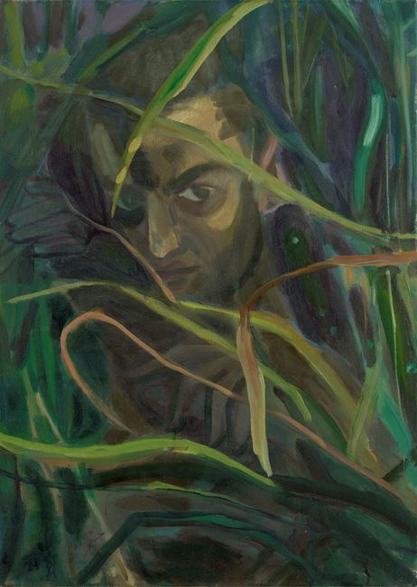 Lurking in Little Weed by Jake Grewal contemporary artwork