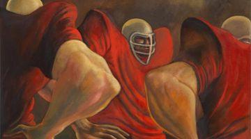 Contemporary art exhibition, Ernie Barnes, Ernie Barnes at Andrew Kreps Gallery, 55 Walker Street, USA
