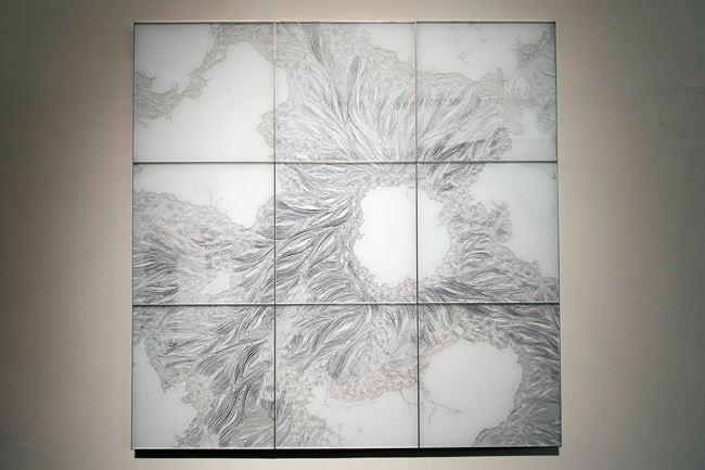 Flotage-W by Shinji Ohmaki contemporary artwork
