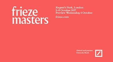 Contemporary art exhibition, Frieze Masters 2017 at Anne Mosseri-Marlio Galerie, Basel