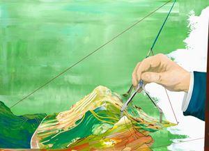Beyond the Silence 006 – The Light Island by Chou Tai-Chun contemporary artwork