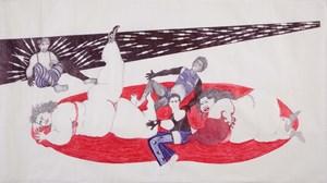 Daggerful by Vidha Saumya contemporary artwork