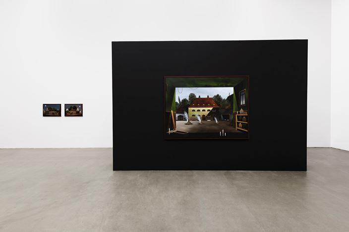Titus Schade, ALTSTADT,2019, Installation view, Galerie EIGEN + ART Leipzig, photo: Uwe Walter, Berlin