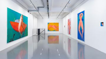 Contemporary art exhibition, Sofia Mitsola, Sedrick Chisom, CONDO 2020: hosting Matthew Brown Gallery, Los Angeles at Pilar Corrias, London