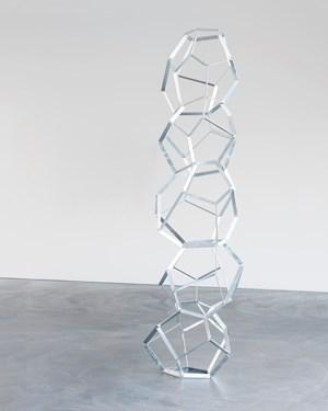 Fünfstöckiger Dodekaeder by Beat Zoderer contemporary artwork