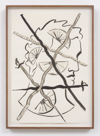 Janus (Lemons) by Michael Dopp contemporary artwork painting, works on paper, drawing