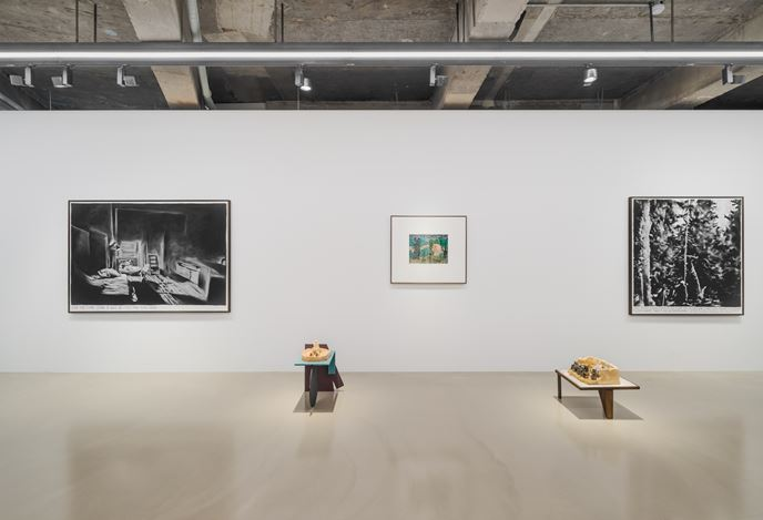 Installation view: Rinus Van de Velde, 'On Another Plane of Existence', Gallery Baton, Seoul, 2020