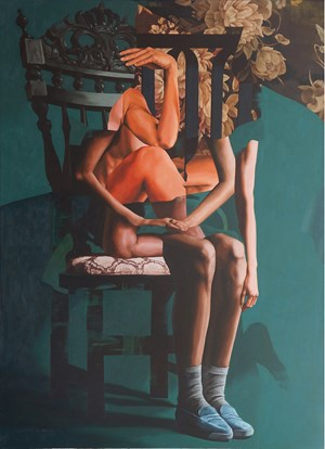 Stack on a chair #2 by Wedhar Riyadi contemporary artwork